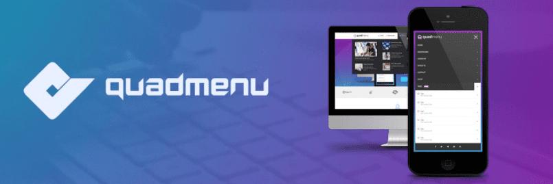 The QuadMenu mega menu WordPress plugin.