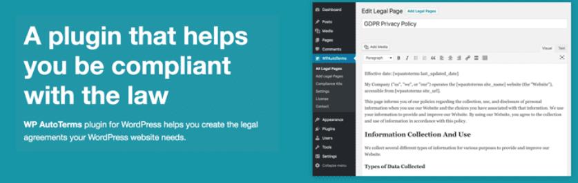 The WP AutoTerms WordPress plugin.