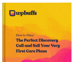 How to Sell Your Very First Care Plans Cover