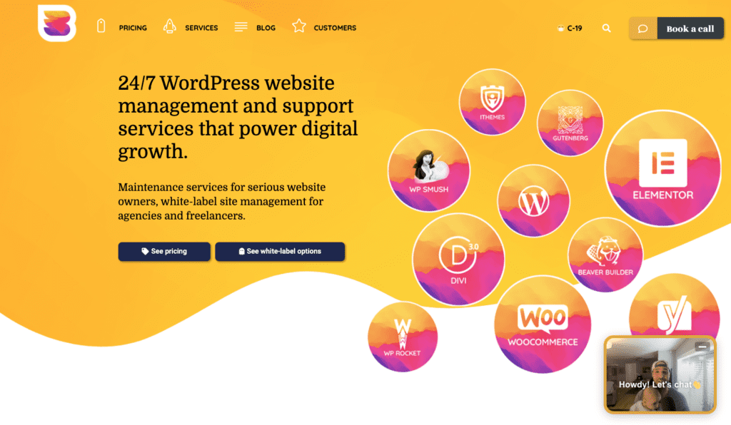 WP Buffs homepage