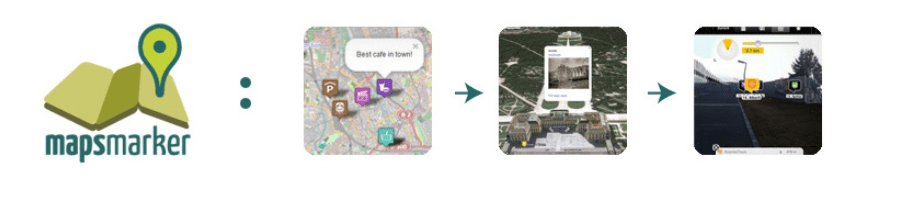 The Maps Marker Pro map plugin for WordPress.