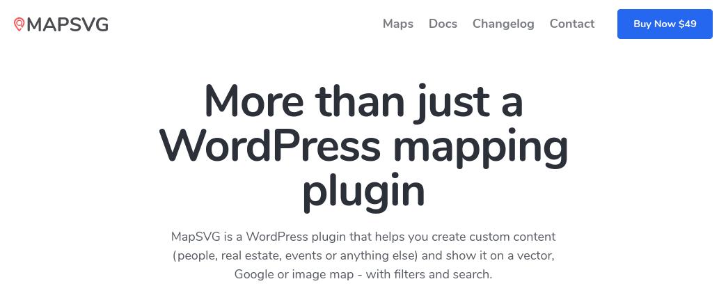 The MapSVG map plugin for WordPress.