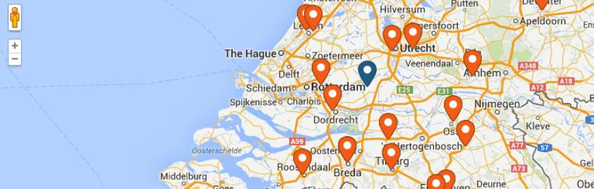 The WP Store Locator map plugin for WordPress.