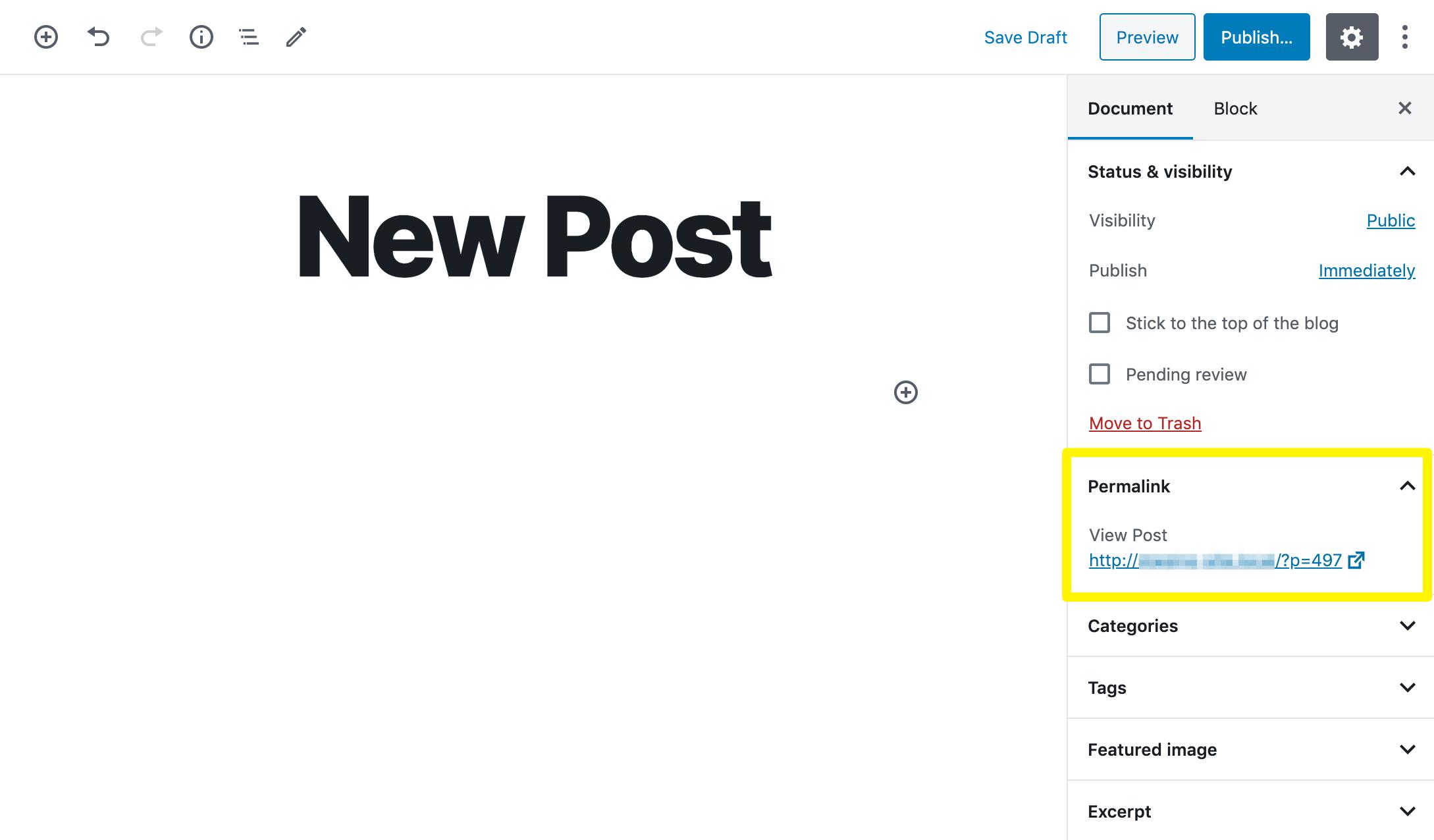 WordPress slug not working.