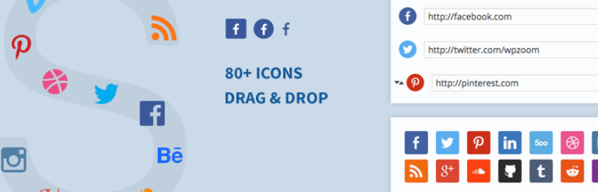 The Social Icons Widget WordPress plugin.