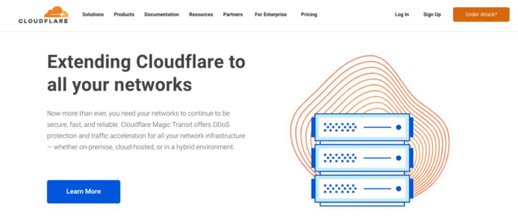 The Cloudflare CDN.