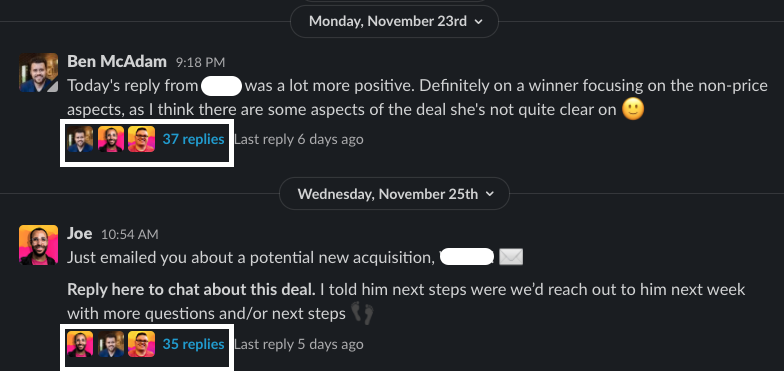AcquisitionChatter