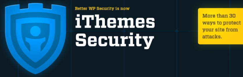 The iThemes Security Pro plugin website.