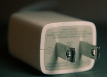 A power cord adapter.